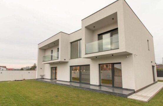 La nouvelle villa minimaliste à Baneasa