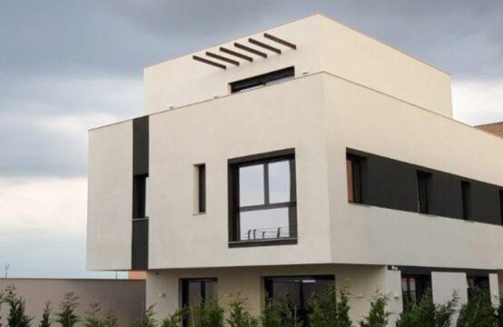 Villa dans un style minimaliste, mini complexe de 4 villas, zone Pipera (id run: 15347)
