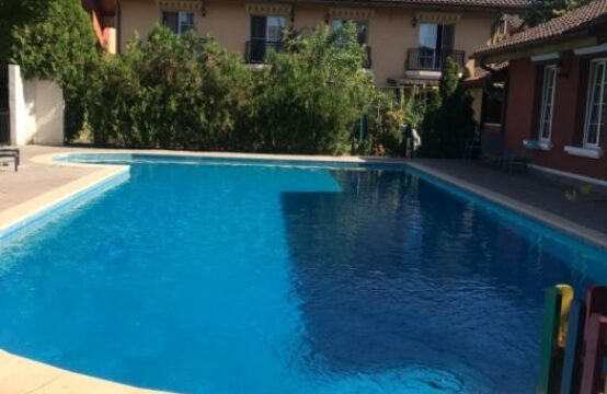 Villa located in a complex with a swimming pool