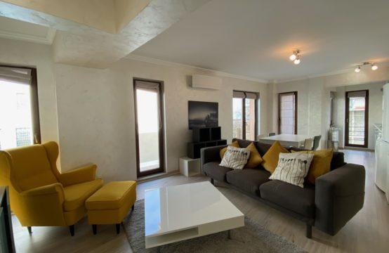 Apartament 3 camere, mobilat, cu terasa, zona Dacia