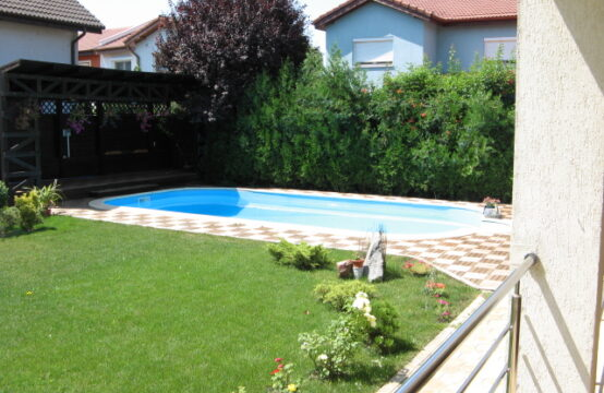 Villa avec piscine et jardin, quartier Iancu Nicolae (id run: 10039)