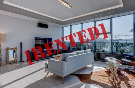 Luxury penthouse, 3 rooms, with terrace, Baneasa area