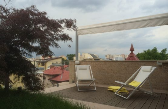Luxury penthouse, 3 rooms, with terrace, Dacia area