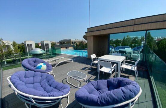 Appartement 4 pièces, immeuble avec piscine sur le toit, quartier Aviatorilor (id run: 12119)
