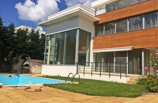 Modern villa, furnished, with pool, Iancu Nicolae area