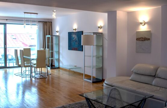 3 rooms apartment, modernly furnished, with terrace, Dorobanti area