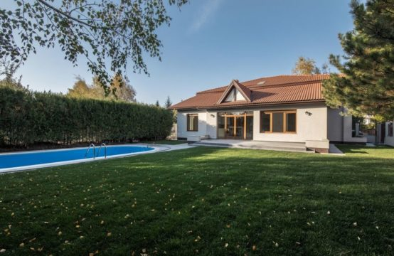 Bright villa, with pool and generous land, Iancu Nicolae area