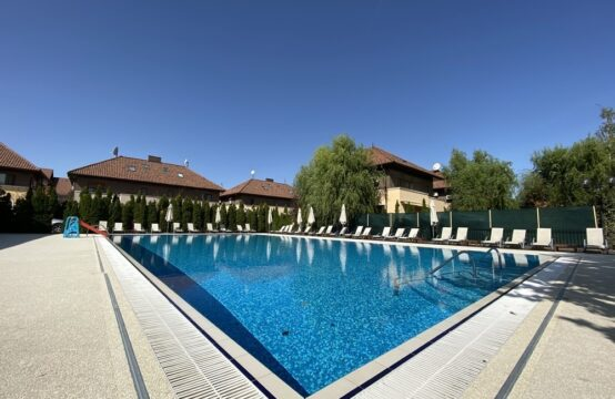 Bright and spacious villa, recently renovated, complex with pool and tennis court, Iancu Nicolae area