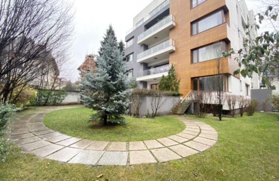 Appartement 4 pièces, avec terrasse et jardin, meublé, quartier Kiseleff (id run: 17244)