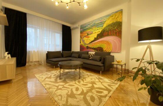 Appartement 3 pièces, récemment rénové, quartier Dorobanti (id run: 17315)
