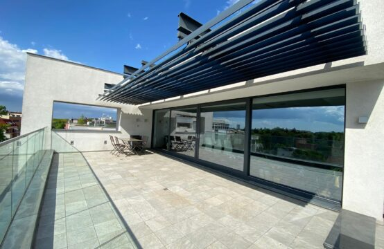 5-room penthouse with spacious terrace, new building, luxury, Aviatorilor area