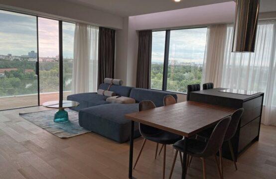 Appartement de luxe, meublé, 4 pièces, avec terrasse, quartier Floreasca (id run: 17576)