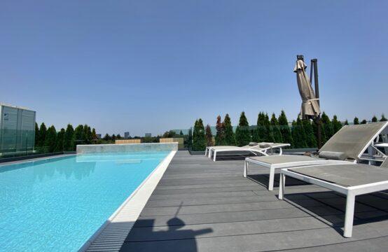 Appartement 4 pièces avec terrasse, immeuble avec piscine, quartier Aviatorilor (id run: 17598)
