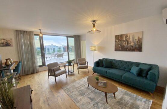 Penthouse avec généreuse terrasse, vue lac, 3 pièces, quartier Baneasa (id run: 17646)Penthouse cu terasa generoasa, vedere catre lac, 3 camere, zona Baneasa